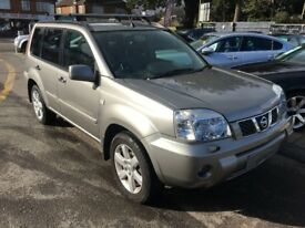 2006/06 NISSAN X-TRAIL 2.2 dci ADVENTURA 5DR SILVER,HIGH SPEC INC GLASS ROOF,LOOKS+DRIVES WELL