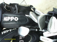 "MENS RIGHT HAND GOLF CLUBS ""HIPPO HYBRID"""