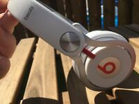 Official Beats by Dr. Dre Mixr On-Ear Headphones - White