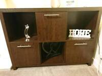 Next Walnut sideboard unit cabinet
