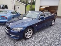 BMW 3 SERIES CONVERTIBLE CAR, VERY WELL MAINTAINED, NO FAULT AT ALL,LOW MILEAGE,LIKE A BRAND NEW CAR