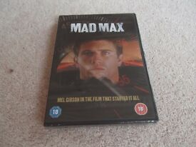 Mad Max starring Mel Gibson DVD (new/sealed) £6