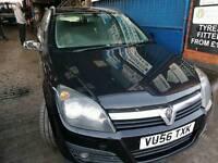Breaking Vauxhall Astra SXi CDTi 1.7 turbo diesel black 100bhp 2006