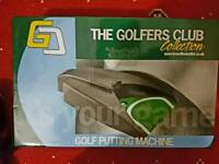 Brand new Golf Putting Machine The Golfers Club