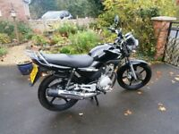 2010, Yamaha YRB 125 ED, in excellent condition.