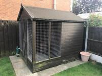 Dog Kennel 8ft x 6ft with Run