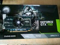 Gtx 750 2gb GPU