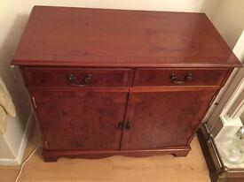 Dark Wood Cabinet