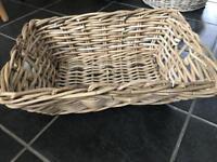 New with tag ikea wicker basket