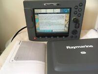 Raymarine E80 Multifunction Networked Display - Radar - Chartplotter - Sonar