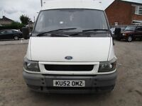 2002 52 FORD TRANSIT 2.4 MINIBUS 15 SEATER FULL MOT TOW BAR ELECTRIC WINDOWS A/C PX SWAPS