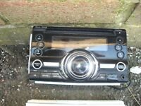 Clarion 2 din stereo + sub+amp+speakers