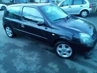 RENAULT CLIO CAMPU, 2006, BLACK, 3 DOOR, DRIVES GREAT, EW,CD,ABS, ALLOYS, CHESP TO RUN
