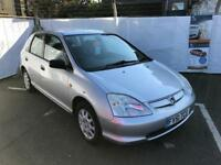 Honda Civic Max 1.4, Air Con, Good History, 12 Month Mot, 3 Month Warranty