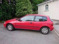 1994 Honda Civic ESi 1.6 VTEC Automatic. Genuine 53,850 miles. 3 door Hatchback. 12 months MoT.