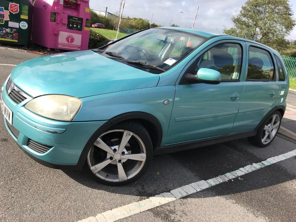 CORSA 1.2 5 DOORS GREEN(clutch need to replace can't drive,need to tow )