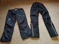 Ladies Motorcycle Trousers by Halvarssons Jofama Dry Way