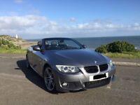 BMW 320d MSPORT GREY CONVERTIBLE SPORT Excellent condition