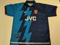 Vintage Arsenal FC Nike Away Shirt 1995/96 Season