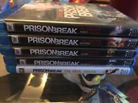 Prison break 1-4 plus The final break blu rays