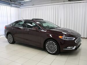 2017 Ford Fusion HURRY!! DON'T MISS OUT!! SE 4WD SEDAN w/ HEATED