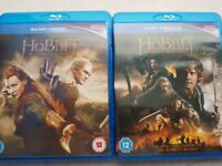 The Hobbit parts 2 and 3 on Blu ray