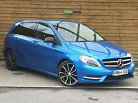 Mercedes-Benz B Class B200 CDI BlueEFFICIENCY Sport 5dr Auto SAT NAV (cavansite blue metallic) 2014