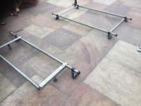Rhino roof bars roof rack, Vauxhall vivaro/ Renault traffic