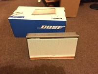 Bose Bluetooth Soundlink 2 White Leather Boxed