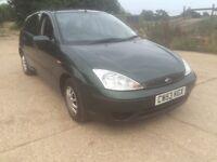 Ford Focus lx 1400 cheap MOT 7/11/16 £425ono