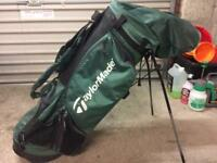 Full Set of Lynx Black Cat Golf Clubs & bag
