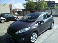diesel fiesta titanium verynice car but to small for me c/control re/sensors sony cd in gray cat d