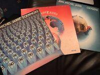 """3x Jean Michel Jarre 12"""" vinyl records"""