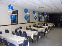 Fully Licensed Function Hall for public & private events in Dartford Kent