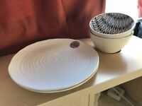 Plates and bowls - brand new set
