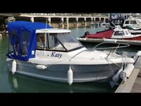 Spectrum 480 Pilothouse Fast Fisher boat and powered tender for sale PRICE REDUCED