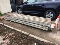 Block and beam floor beams. 10 @ 3.4m. £200