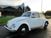 2002 VW Beetle low milage in immaculate condn. FSH