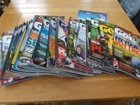 Golf Magazines x 33