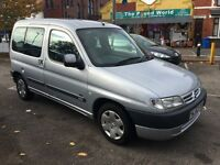 Citroen Berlingo Multispace 1.4 i Forte 5dr , Full MOT , Good Runner 2002 (52 reg), MPV
