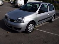 2008 renault clio 1.2 8v only 53000M ideal first car low insurance electric windows power steering