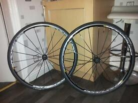 Road bike, mavic kysrium elite wheel set