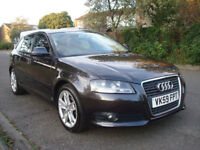 2009AUDI A3 1.9 TDI SPORT EDITION,5DR,2 FORMER KEEPERS,SPORT SEATS,FULL SERVICE HISTORY,£30 ROAD TAX