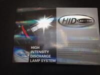 H7 HID kit brand new with vw mk5 bulb adapters