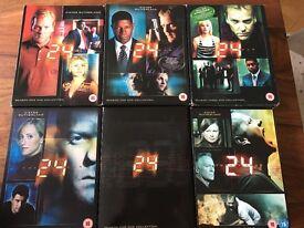 24 Series Box Sets Seasons 1-6