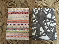 Two Blank Sketchbooks