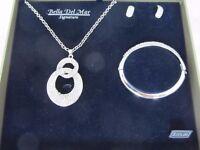 Brand new Bella Del Mar jewellery set