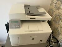 HP Laser Jet multi function printer inc new toner