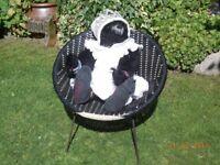 Vintage Plastic Weave Chair - Child Sized