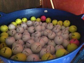Mixed Golfballs